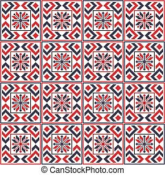 Romanian traditional pattern 107 - Romanian vector pattern ...