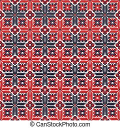 Romanian traditional pattern 110 - Romanian vector pattern ...