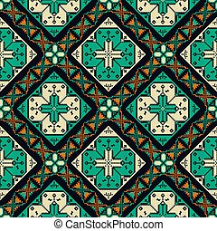 Romanian traditional pattern 12 - Romanian vector pattern ...