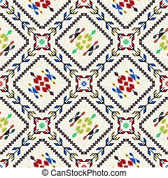 Romanian traditional pattern 61 - Romanian vector pattern ...
