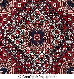 Romanian traditional pattern 73 - Romanian vector pattern ...