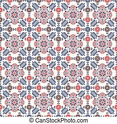 Romanian traditional pattern 79 - Romanian vector pattern ...