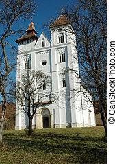romanisch, herina, kirche