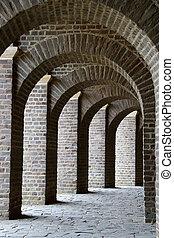 romano, aire libre, museo, de, el, norte, en, xanten, alemania