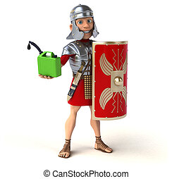 romano, soldado
