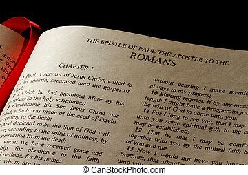 romans, 書簡
