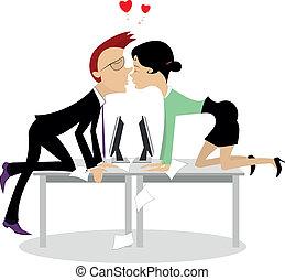 romans, biuro
