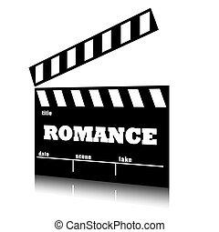 romans, genre., film, klepać, kino