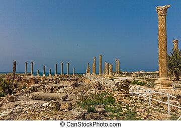 romans ruins Tyre Sur South Lebanon