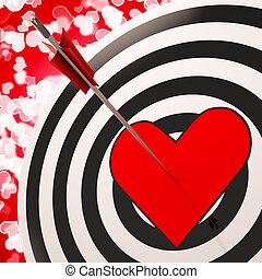 romans, serce, tarcza, powodzenie, widać