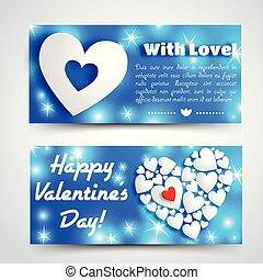 Romantic Amour Horizontal Banners