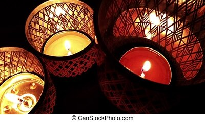 Romantic and Emotional Candle Light