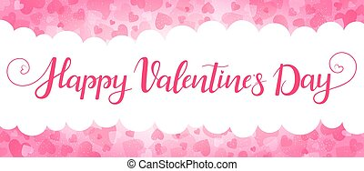 Romantic background for Valentines day