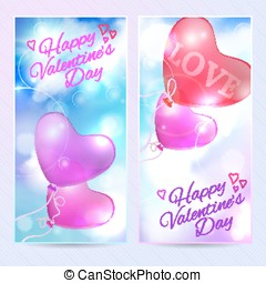 Romantic background valentines day card