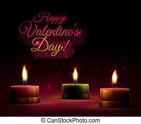Romantic background, valentine's day, eps 10