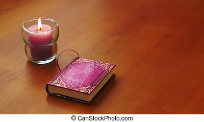 Romantic Book and Candle