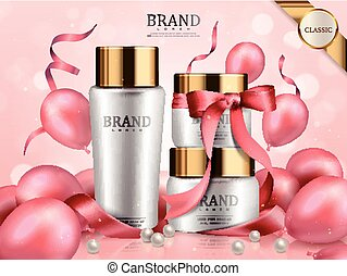 Romantic cosmetic set