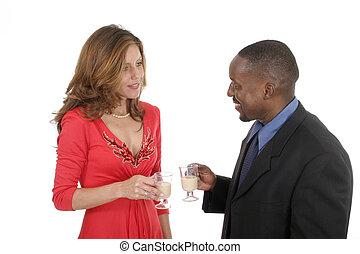 Romantic Couple Celebrating 5