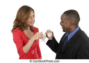 Romantic Couple Celebrating 6