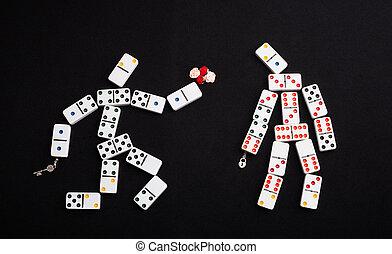 Romantic domino