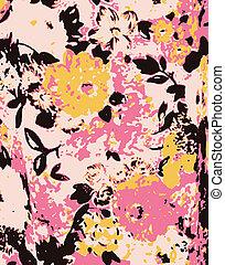 romantic fancy flower wallpaper