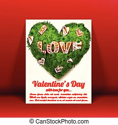 Romantic Lovely Greeting Card