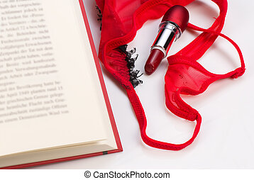 Romantic novel - A novel of the romantic genre, a concept