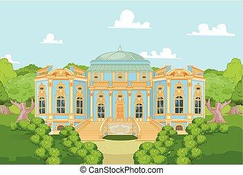 Cute romantic palace for a princess