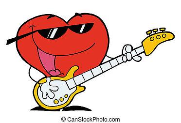 Romantic Red Heart