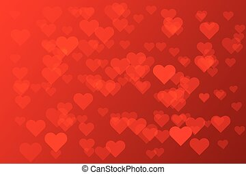 Romantic red heart on red background vector illustration design for valentine's day, wedding card, love frame