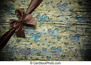 Romantic rustic background
