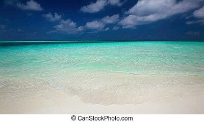 Romantic sandy beach