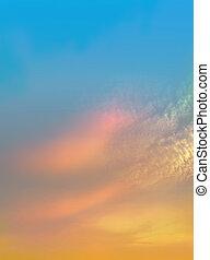 Romantic sky background