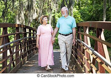 Romantic Stroll in the Park