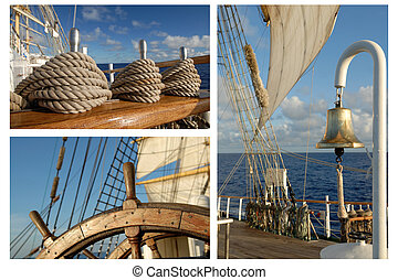Romantic Travel, Sailing Frigate