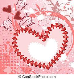 Romantic Valentine Frame