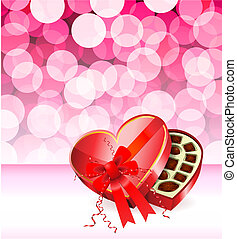 romantic Valentine's Day design background