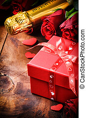 Romantic Valentine's setting