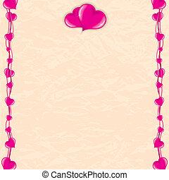 Romantic Vector Card
