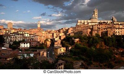 Siena - romantic view of Siena
