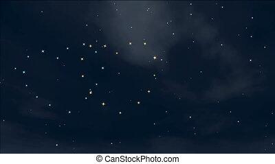 romantique, étoiles
