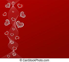 romantische, artistiek, backgr