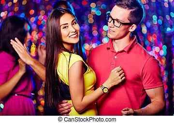 romantische , tanzen