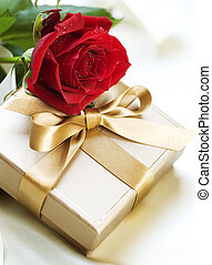 romantisk, gåva