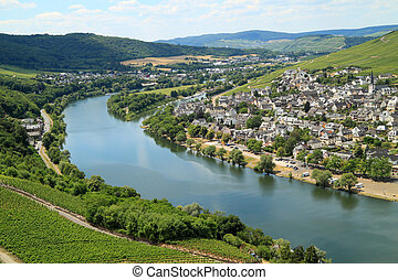 romantisk, ställen, in, tyskland