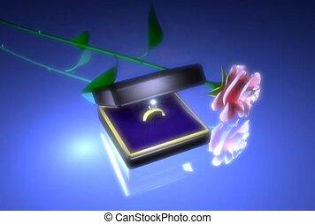 romantyk, ślub, propozycja