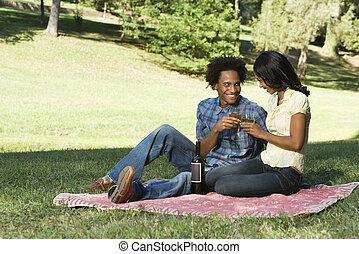 romantyk, picnic.