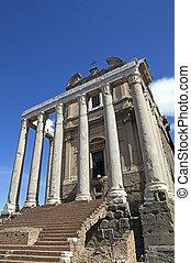 Romanum Forum - Roman Forum, or Forum Romanum
