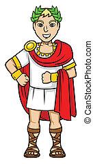 romarna, kejsare