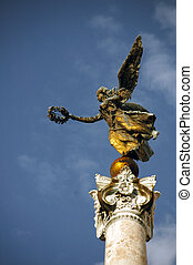rome - angel of victory, Rome, Italy, Venice square